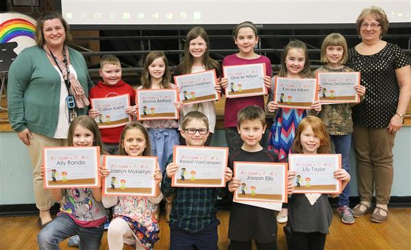 Mexico Elementary announces Student Lighthouse Team