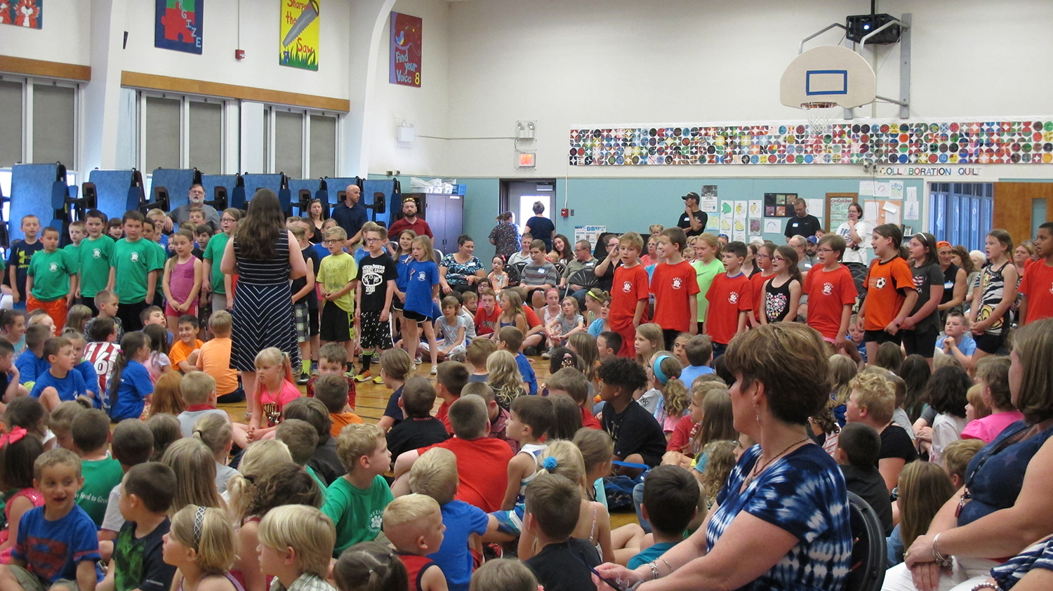 Flag Day Celebrated at Mexico Elementary School