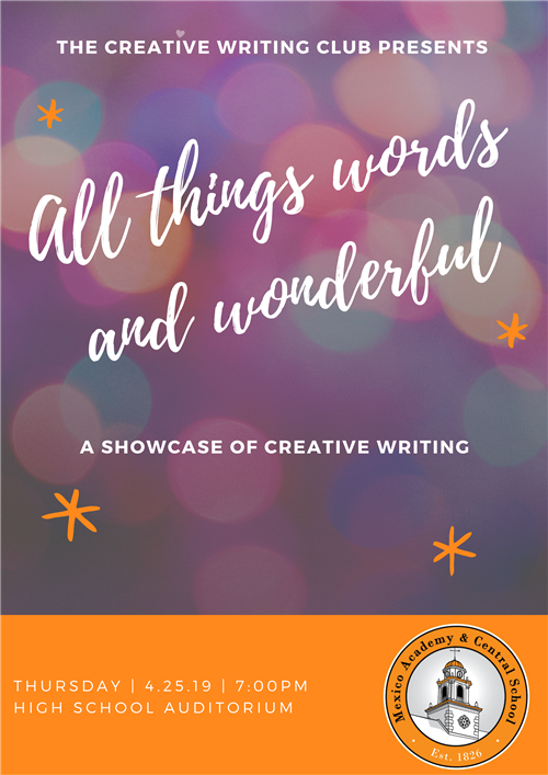 Poster for All Things Words and Wonderful