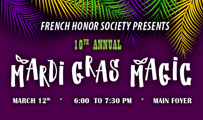 10th Annual Mardi Grad Magic