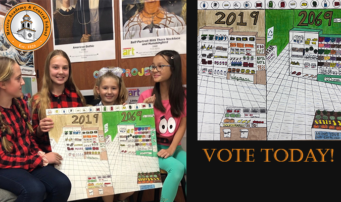 Vote until Dec. 12 in the poster contest