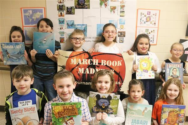 March Book Madness excites New Haven third-graders
