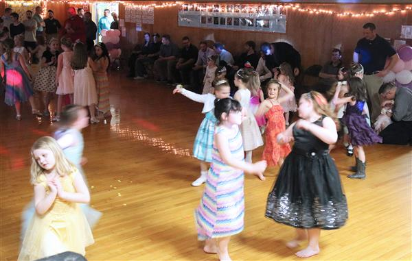 Dancing is a family and royal affair at Palermo Elementary